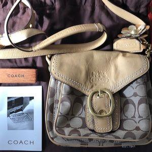 Coach Monogram Crossbody Handbag